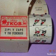 Juguetes Antiguos: ANTIGUA PELICULA *ZIPI Y ZAPE Y TIO FEDERICO* DEL CINE SKOB - DIBUJANTE ESCOBAR. Lote 105856635