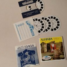 Juguetes Antiguos: VIEW-MASTER , ALI BABA - PHOTOS EN RELIEF ( 4 RUEDAS , INTRUCCIONES EN FRANCES ) AÑOS 60 . Lote 105946487
