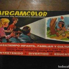 Brinquedos Antigos: PROYECTOR AIRGAMCOLOR DE AIRGAM. PROYECTOR CON CALEIDOSCOPIO. AÑOS 70. Lote 108838231
