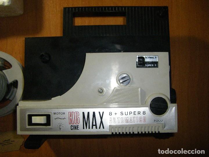 Juguetes Antiguos: Proyector Cine Max K - 6 Bianchi 8 + Super 8 con películas - Foto 4 - 111380199