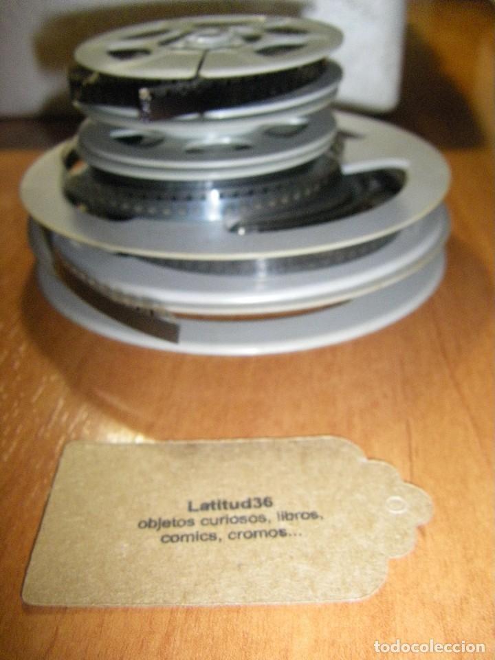 Juguetes Antiguos: Proyector Cine Max K - 6 Bianchi 8 + Super 8 con películas - Foto 6 - 111380199