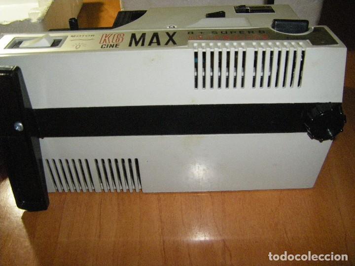 Juguetes Antiguos: Proyector Cine Max K - 6 Bianchi 8 + Super 8 con películas - Foto 7 - 111380199