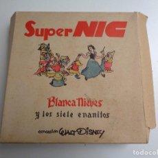 Juguetes Antiguos: SUPER NIC.BLANCA NIEVES Y LOS SIETE ENANITOS. Lote 111726503