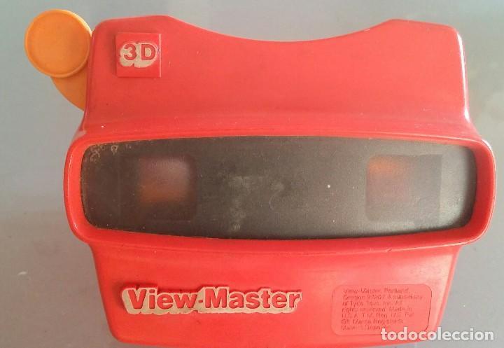 ANTIGUO VISOR ESTEREOSCOPICO VIEW MASTER 3 D (Juguetes - Pre-cine y Cine)