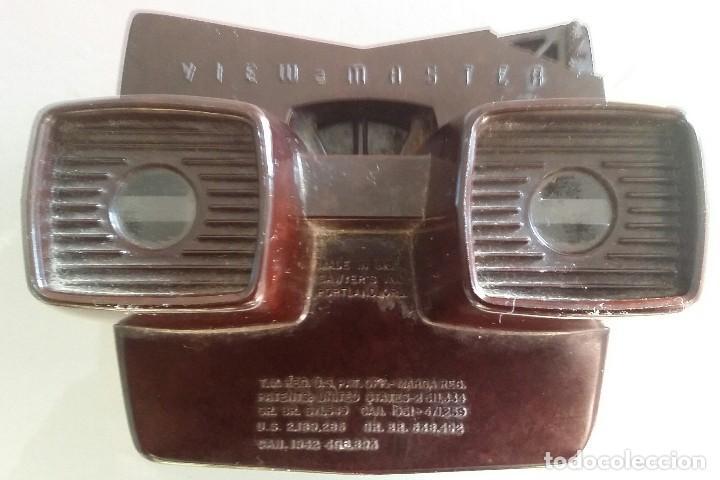 ANTIGUO VISOR ESTEREOSCOPICO VIEW MASTER 3 D DE BAQUELITA (Juguetes - Pre-cine y Cine)