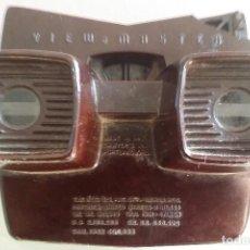 Juguetes Antiguos: ANTIGUO VISOR ESTEREOSCOPICO VIEW MASTER 3 D DE BAQUELITA. Lote 111982603