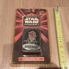 Juguetes Antiguos: STAR WARS EPISODE I COLLECTIBLE PIN. Lote 112105279