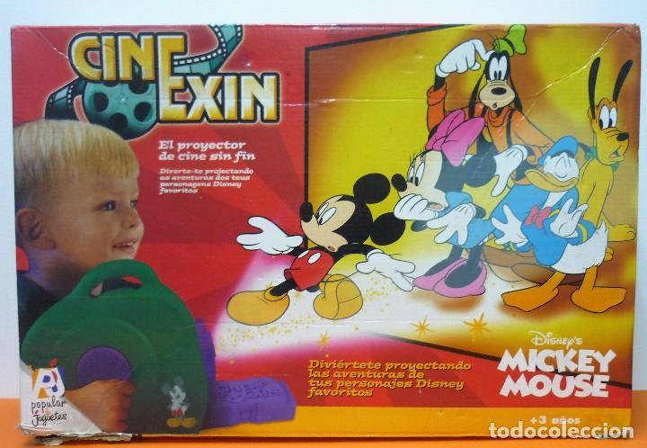 Juguetes Antiguos: CINE EXIN MICKEY MOUSE + 3 PELÍCULAS - FUNCIONANDO - Foto 2 - 113466991