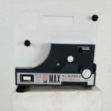 Juguetes Antiguos: PROYECTOR DE CINE. CINE MAX K6. SUPER 8 AUTOMÁTICO. BIANCHI. CIRCA 1970. . Lote 115645207