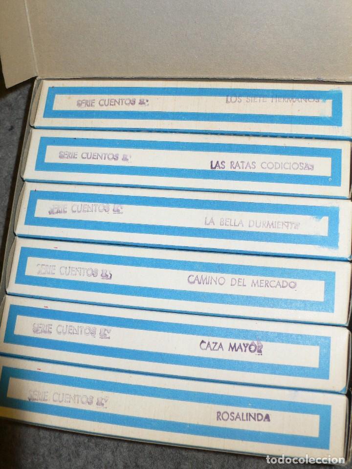 Juguetes Antiguos: ANTIGUA CAJA COMPLETA PELÍCULAS SUPER NIC PANTALLA PANORÁMICA ROSALINDA - Foto 3 - 117367103