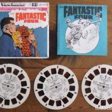 Giocattoli Antichi: VIEW-MASTER FANTASTIC FOUR: GAF VINTAGE PACK K36 –1979 – REDDISH TINT . Lote 117488847
