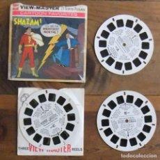 Giocattoli Antichi: VIEW MASTER SHAZAM: GAF VINTAGE PACK B550 –1975 – KODACHROME. Lote 117490631