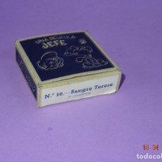 Juguetes Antiguos: PELÍCULA 7 METROS * SANGRE TORERA * Nº 10 DEL PROYECTOR JEFE 9,50 MM. AÑO 1950S.. Lote 118308583