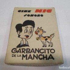 Juguetes Antiguos: CINE NIC GARBANCITO DE LA MANCHA ESTUCHE CON 6 PELÍCULAS -ORIGINAL- (B). Lote 118622527