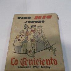 Juguetes Antiguos: CINE NIC LA CENICIENTA ESTUCHE CON 6 PELÍCULAS -ORIGINAL- (B). Lote 118622603