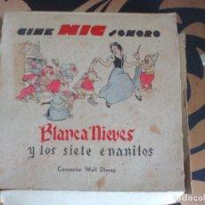 Juguetes Antiguos: CINE NIC SONORO. Lote 119076631