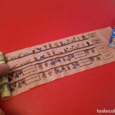 Juguetes Antiguos: ANTIGUO PELICULA CINE PAYA PROYECTOR AÑOS 50 JUGUETES Y NIÑOS,LOS ESCOLARES 16 JUGUETE DIBUJOS . Lote 119489743
