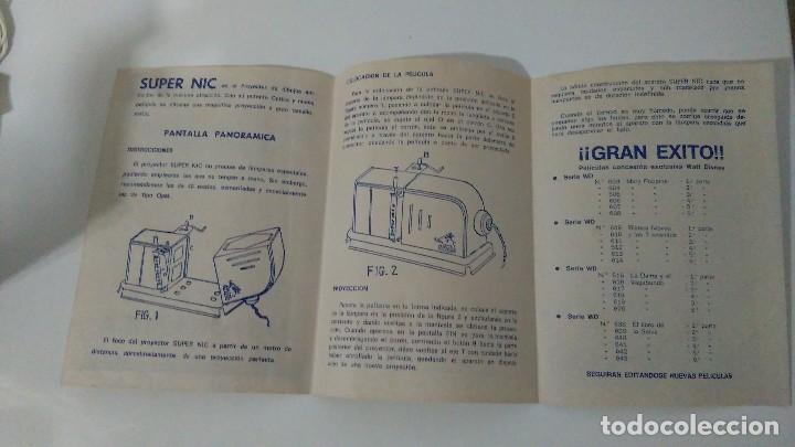 Juguetes Antiguos: PROYECTOR DE DIBUJOS ANIMADOS SUPER NIC PANTALLA PANORÁMICA Y LOTE DE PELICULAS - Foto 11 - 139232416