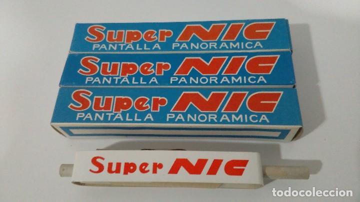 Juguetes Antiguos: PROYECTOR DE DIBUJOS ANIMADOS SUPER NIC PANTALLA PANORÁMICA Y LOTE DE PELICULAS - Foto 13 - 139232416