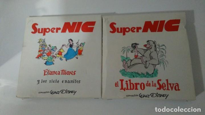 Juguetes Antiguos: PROYECTOR DE DIBUJOS ANIMADOS SUPER NIC PANTALLA PANORÁMICA Y LOTE DE PELICULAS - Foto 15 - 139232416