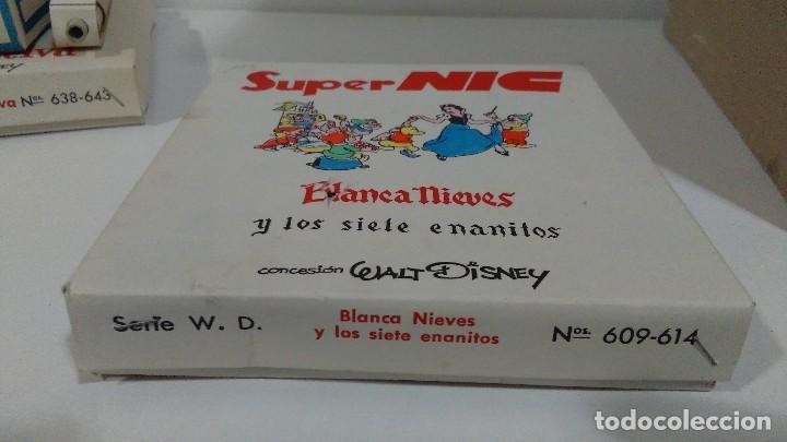 Juguetes Antiguos: PROYECTOR DE DIBUJOS ANIMADOS SUPER NIC PANTALLA PANORÁMICA Y LOTE DE PELICULAS - Foto 19 - 139232416