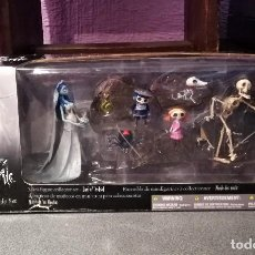 Juguetes Antiguos: TIM BURTON CORPSE BRIDE MINIFIGURES COLLECTOR SET RARO MUY DIFICIL DE ENCONTRAR!!. Lote 124228643