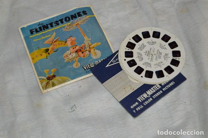 CONJUNTO DE DIAPOSITIVAS VIEW MASTER - DE FLINTSTONES - AÑOS 50/60 - 21 STEREO FOTO'S - ENVÍO 24H (Juguetes - Pre-cine y Cine)