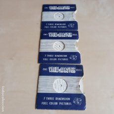 Juguetes Antiguos: VIEW MASTER, TRES DISCOS DE 101 DALMATAS. Lote 128758731