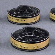 Juguetes Antiguos: 6 PELÍCULAS PATHÉ BABY 9,5 MM PULGARCITO PETIT POUCET HACIA 1920. Lote 128979419