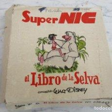 Juguetes Antiguos: SEIS PELICULAS CINE NIC PANORAMICO SERIE EL LIBRO DE LA SELVA . Lote 130882800