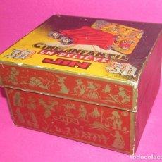 Juguetes Antiguos: CINE INFANTIL EN RELIEVE JIN 3D - CAJA ANTIGUA MUY BONITA. Lote 130993168