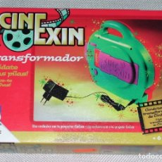 Juguetes Antiguos: CINEXIN - TRANSFORMADOR PARA QUE NO GASTES EN PILAS. Lote 132846902