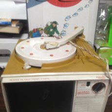 Juguetes Antiguos: PRECIOSO APARATO SHOW AND TELL PHONE VIEWER GENERAL ELECTRIC TOCADISCOS + TELEVISION. Lote 133038706