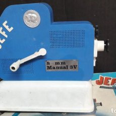 Juguetes Antiguos: PROYECTOR JEFE 8 M/M J. SALUDES ARTICULO 1002. Lote 136159934