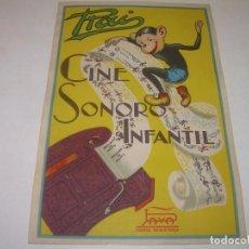 Juguetes Antiguos: PUBLICIDAD CINE RAI - PAYA..EN PERFECTO ESTADO.. Lote 138559070