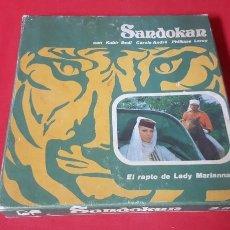 Juguetes Antiguos: SANDOKAN CINTA DE SUPER8. NUMERO 4. Lote 141471754