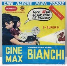 Juguetes Antiguos: BIANCHI CINE MAX. AÑO 1.977. VINTAGE. NUEVO. Lote 143840762