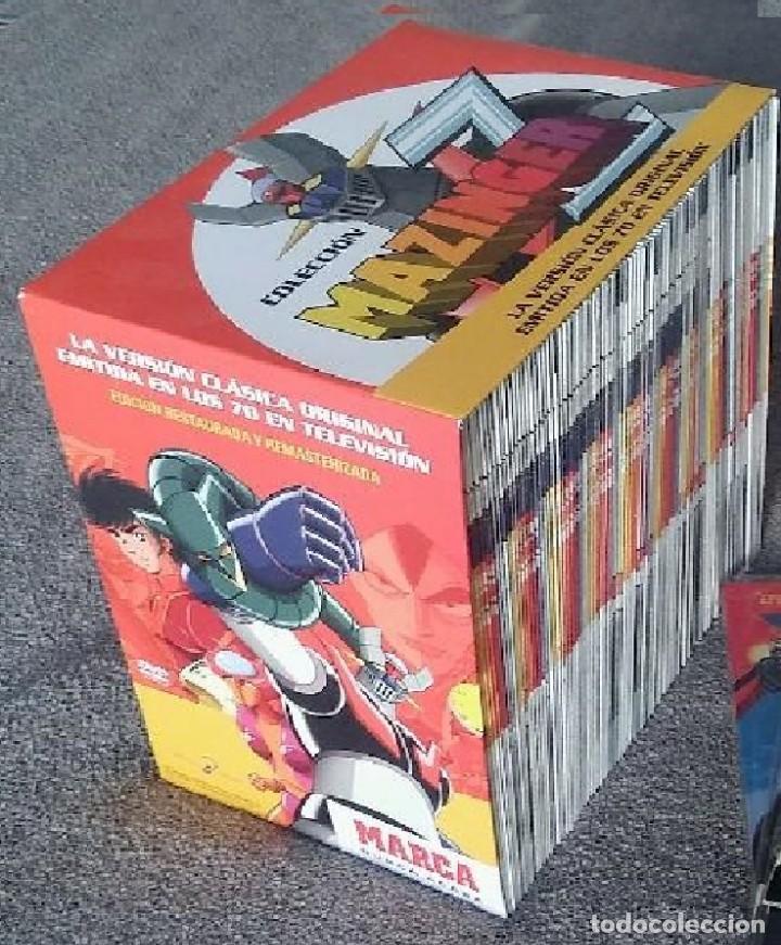 MAZINGER Z - ERIE COMPLETA ESPAÑOL -92 EPISODIOS EN DVDS INDIVIDUALES (Juguetes - Pre-cine y Cine)
