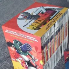 Juguetes Antiguos: MAZINGER Z - SERIE COMPLETA ESPAÑOL -92 EPISODIOS EN DVDS INDIVIDUALES. Lote 145819866