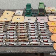 Juguetes Antiguos: FANTASTICO PACK DE CINE NIC DE PROYECTOR + NIC TELEVISION + 49 PELICULAS + 10 DISCOS + 2 CAJAS. Lote 147226042