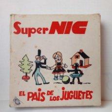 Juguetes Antiguos: CAJA CON 5 PELICULAS PARA MAQUINA SUPER NIC AÑOS 60. Lote 148041510