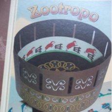 Brinquedos Antigos: ZOOTROPO CAYRO COLLECTION.EN SU CAJA SIN USAR. Lote 149111986