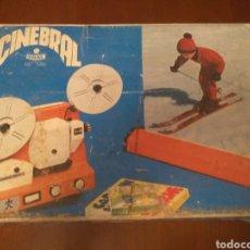 Juguetes Antiguos: SUPER 8+ 8 MM BIPASSO,CINEBRAL AÑOS 70 (FUNCIONANDO). Lote 150669778