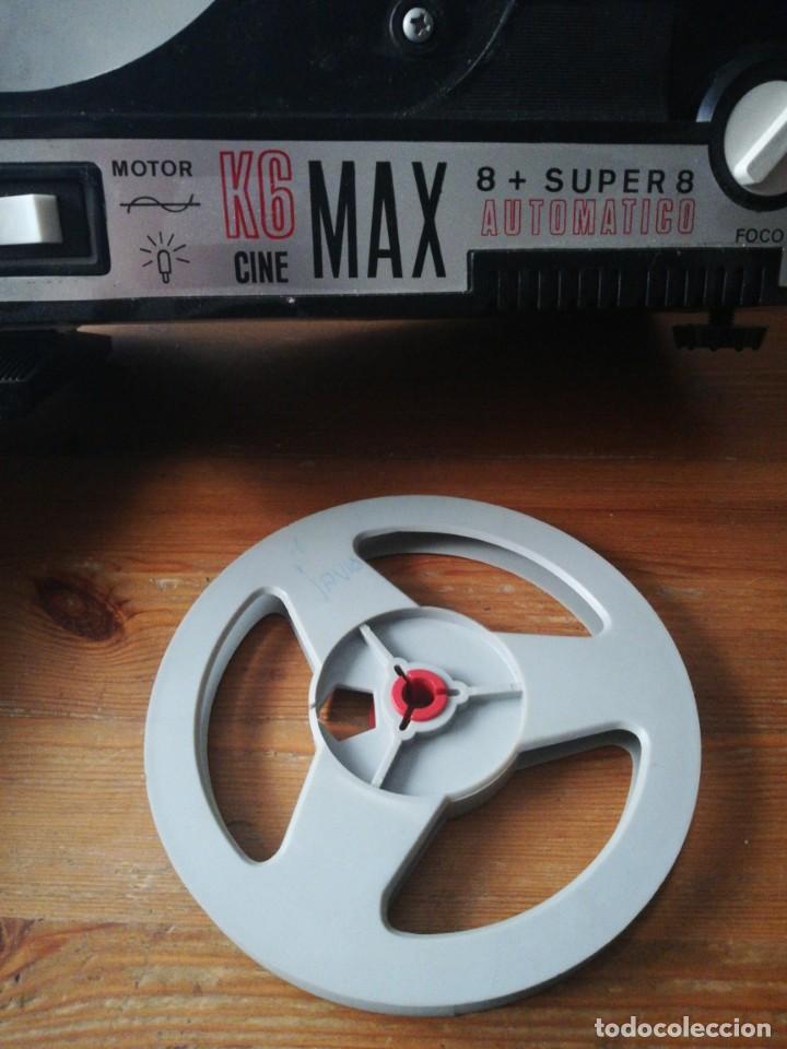 Juguetes Antiguos: K6 Cine Max 8 + Super 8 automático. Bianchi y 7 películas. - Foto 7 - 150724498