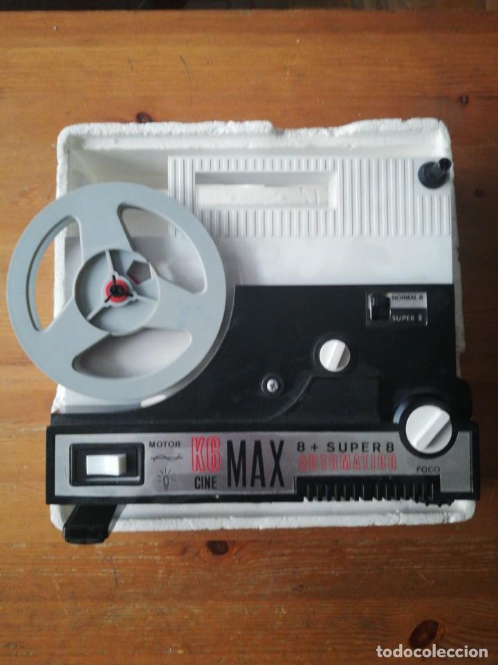 Juguetes Antiguos: K6 Cine Max 8 + Super 8 automático. Bianchi y 7 películas. - Foto 9 - 150724498