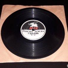 Juguetes Antiguos: DISCO PELÍCULA SONORA CINE NIC SONORO: Nº 13 EL GRAN PREMIO Y Nº 22 EL CASTILLO MALDITO.. Lote 151508734