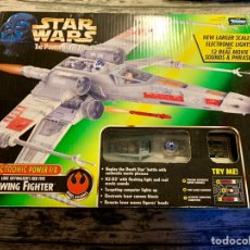 Juguetes Antiguos: HASBRO STAR WARS X-WING FIGHTER ELECTRONIC POWER F/X. Lote 151620001