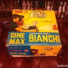 Juguetes Antiguos: CINE MAX BIANCHI. 8 + SUPER 8. CON CAJA. FUNCIONA. Lote 153232214