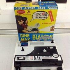 Juguetes Antiguos: CINE MAX BIANCHI 8 Y SÚPER 8 NUEVO AUTOMATICO. Lote 153892296
