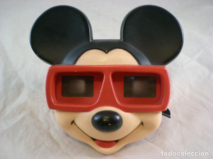 MICKEY MOUSE 3D VIEW MASTER - 1989 WALT DISNEY - MADE IN BELGIUM (Juguetes - Pre-cine y Cine)